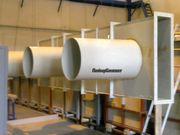 Вентиляционные системы из химически стойких полимерных материалов