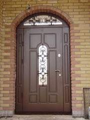 Изготовление металлических дверей,  решеток на окна и пр.
