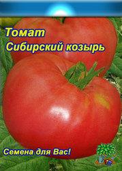 помидоры серии Сибирский сад  Сибирский Козырь