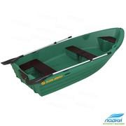 Моторно-гребная шлюпка Kolibri RКМ-350,  пластиковая лодка