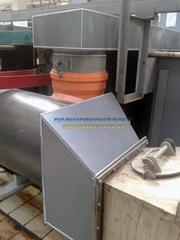 .Корпус емкости (Резервуара. Вентиляции ) из ПВХ.  PVC-C