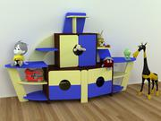 Стенка детская  для детского сада