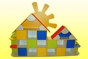 Мебель для детского сада Стенка детская