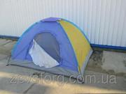 Туристическая палатка 2 х местная