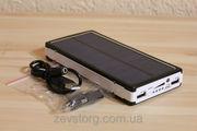 Солнечная зарядка PowerBank 25000mAh