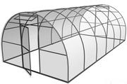 Каркас теплицы из поликарбоната 4х6х2.30 м.