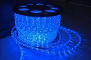 Дюралайт светодиодный led-2wrl синий,  100 метров