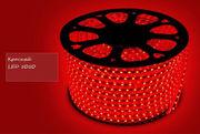 Светодиодный дюралайт led 5050 красный,  100 метров
