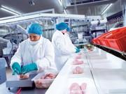 Праця при пакуванні мясних виробів