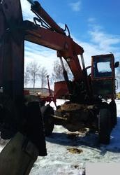 Продаем колесный экскаватор Калининец ЭО-3322Д,  0, 5 м3,  1988 г.в.
