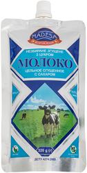 Молоко цельное сгущенное с сахаром 8, 5% дой пак 0,  320 кг,  экспорт