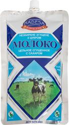Молоко цельное сгущенное с сахаром 8, 5% дой пак 0, 500 кг,  экспорт