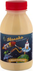 Молоко сгущенное со вкусом БЕЛЫЙ ШОКОЛАД пэт / бут 370 гр.экспорт